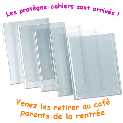 You are currently viewing Les protèges-cahiers sont arrivés !!!